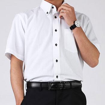 人気の半袖ワイシャツ