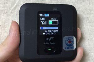 FS030W本体の電源をオン