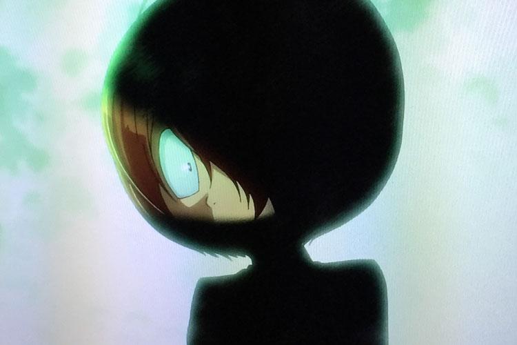 鬼太郎の影