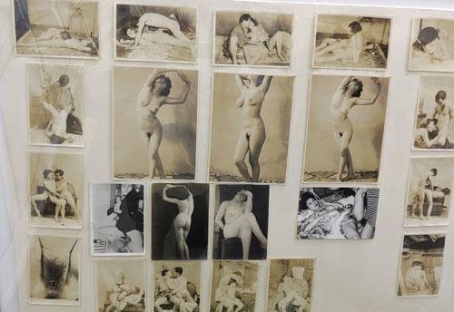 昔のアダルト写真や雑誌